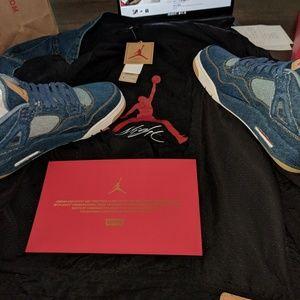 Levis air Jordan 4s